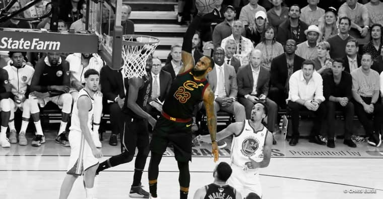 Top 10 : Les plus belles performances de LeBron James en playoffs