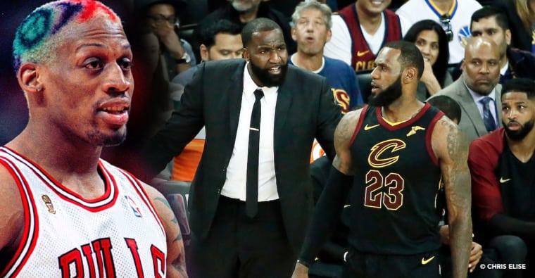 Kendrick Perkins reprend Dennis Rodman sur la mentalité de LeBron James