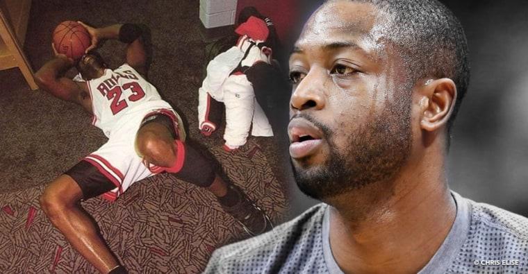 Dwyane Wade a pleuré devant la réaction de Michael Jordan