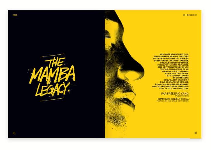 Mook REVERSE #5 Kobe Bryant Mamba Mentality