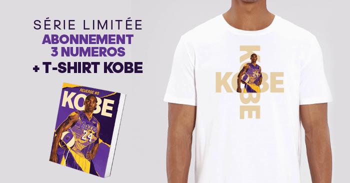 REVERSE abonnement MOOK + T-shirt KOBE BRYANT