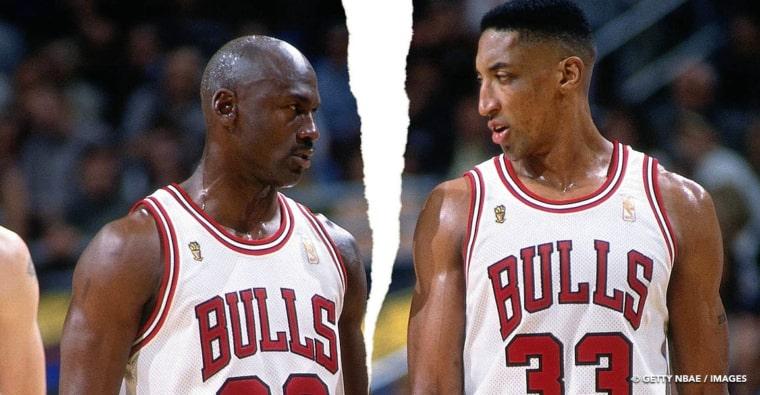 Michael Jordan, une vraie fracture dans sa relation avec Scottie Pippen ?