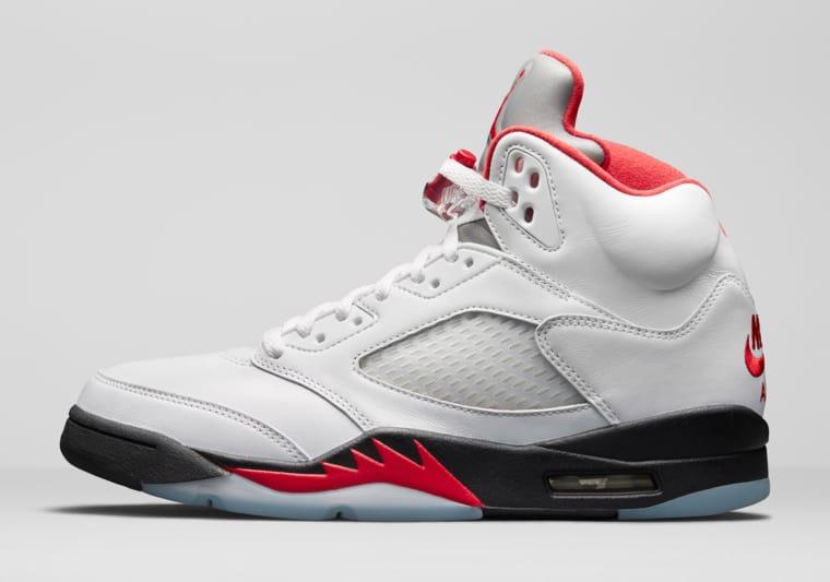 Release of the week : Air Jordan 5 Fire Red