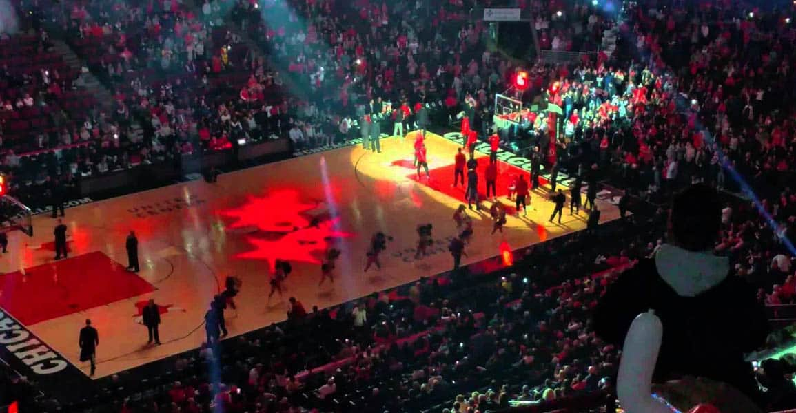 L'intro des Bulls dans les années 90, c'est frissons ga-ran-tis !