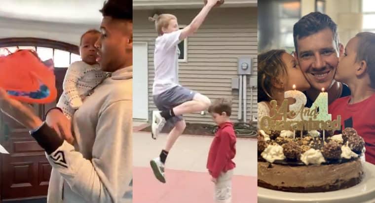 INSIDE : Giannis papa et sneakers addict, Evan roi de la popote et dunk (salement) raté