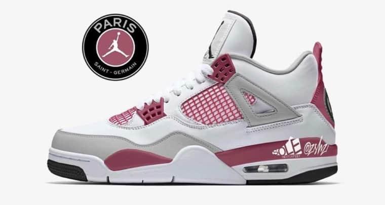 Jordan Brand et le PSG présentent une Air Jordan 4