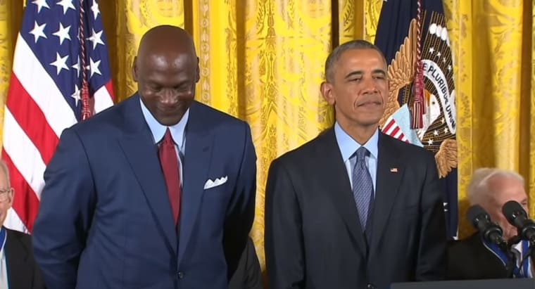 Michael Jordan avait déçu Barack Obama