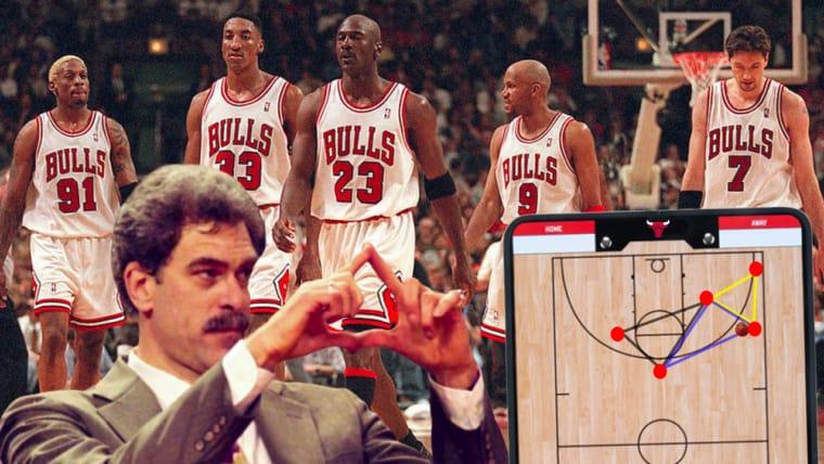 Comment l'Attaque en Triangle a offert tant de titres à Jordan et Kobe