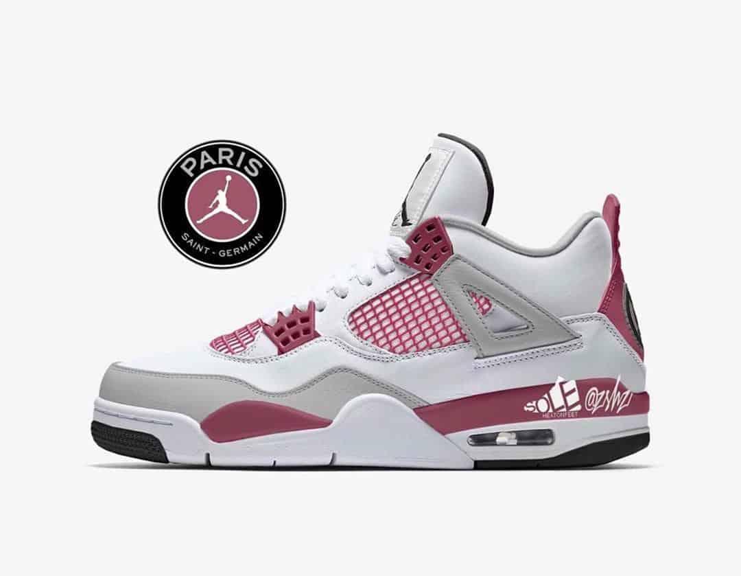 Jordan 4 PSG