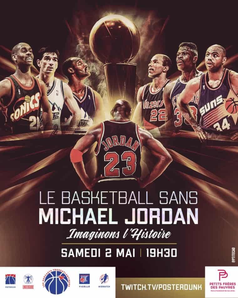 Le basket sans Michael Jordan, le LIVE caritatif à ne pas louper !