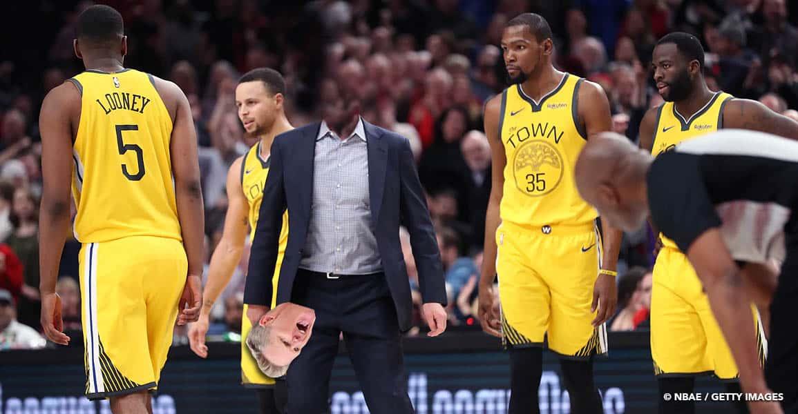 Les Warriors sont passés tout près de perdre leur «tête»… à la faveur des Knicks