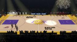 Black Lives Matter : la NBA s'engage en peinture