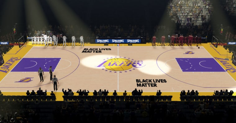 Black Lives Matter : la NBA s'engage en peinture
