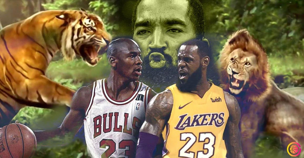 LeBron vs Jordan : la punchline animalière et déjantée by JR Smith !