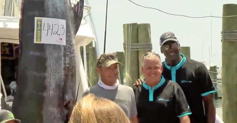Même à la pêche Michael Jordan est le GOAT, enfin presque…