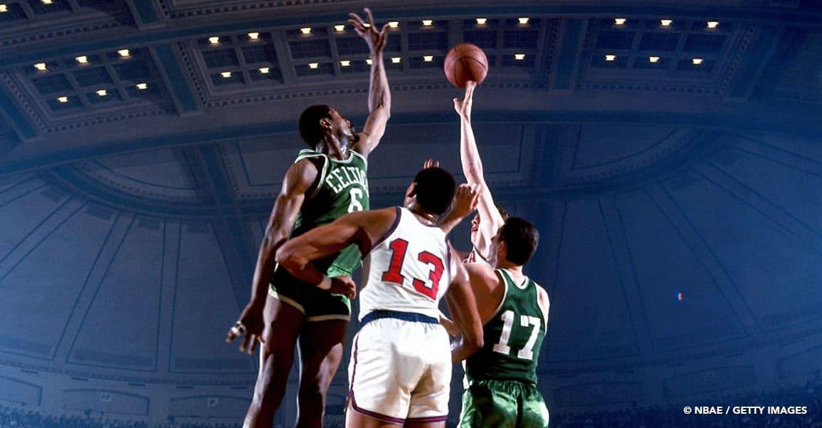 Bill Russell était un monstre athlétique, peut-être plus encore que LeBron