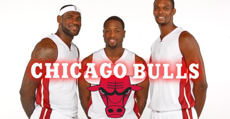 Comment les Chicago Bulls ont failli réunir LeBron, Wade et Bosh en 2010