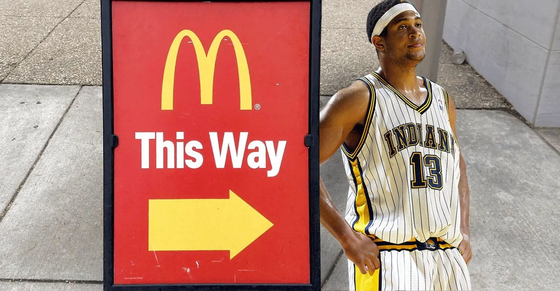 David Harrison : de la NBA au McDo