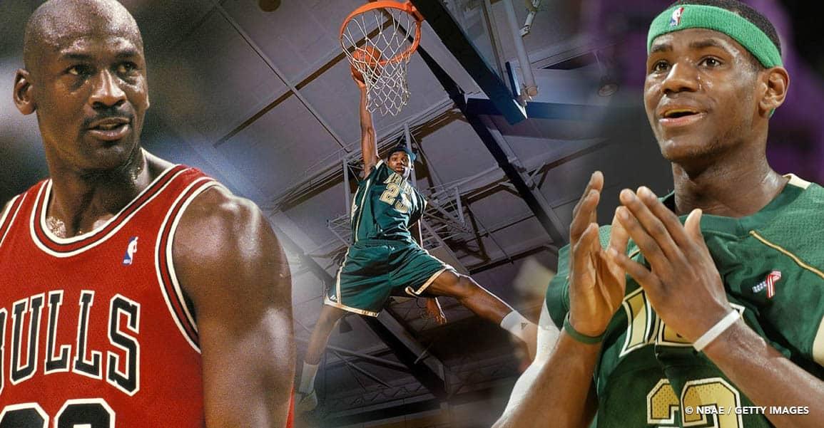 Ce que Michael Jordan pensait de LeBron James avant la NBA… ça pique!