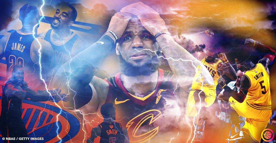 J.R. Smith, le péché mignon de LeBron James est de retour ?