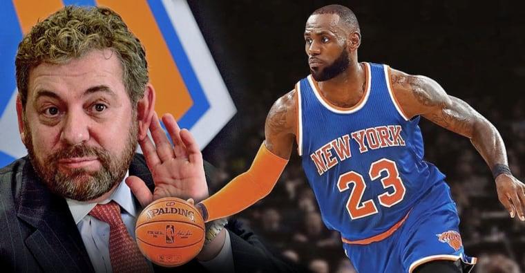 Comment les Knicks ont fait foirer la venue de LeBron James en 2010