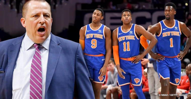 Tom Thibodeau continue de mettre des pressions aux Knicks…