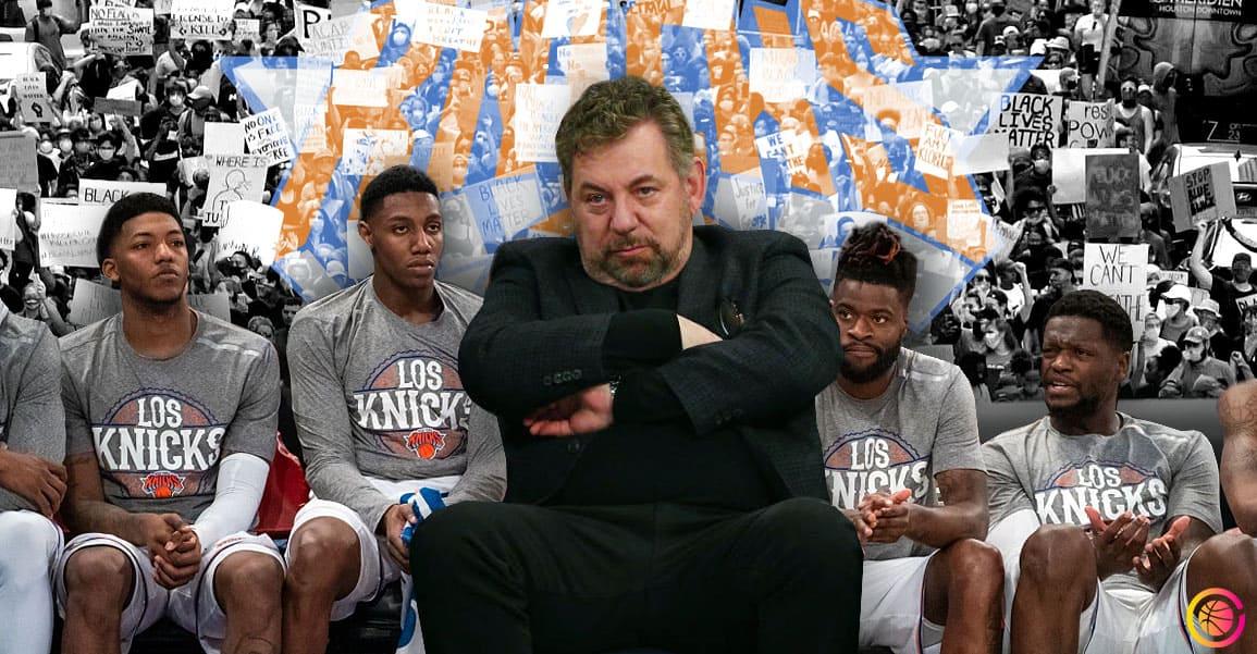 Meurtre de George Floyd: Encore une fois, les Knicks font tout de travers