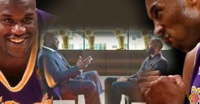 Rivalité, amour vache et culs à l'air : l'entretien culte entre Kobe et Shaq