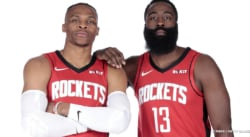 Le duo James Harden – Russell Westbrook met les Rockets sous pression