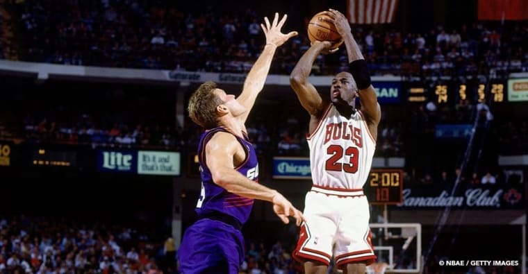 Il y a 27 ans Michael Jordan plantait 55 points en finales NBA