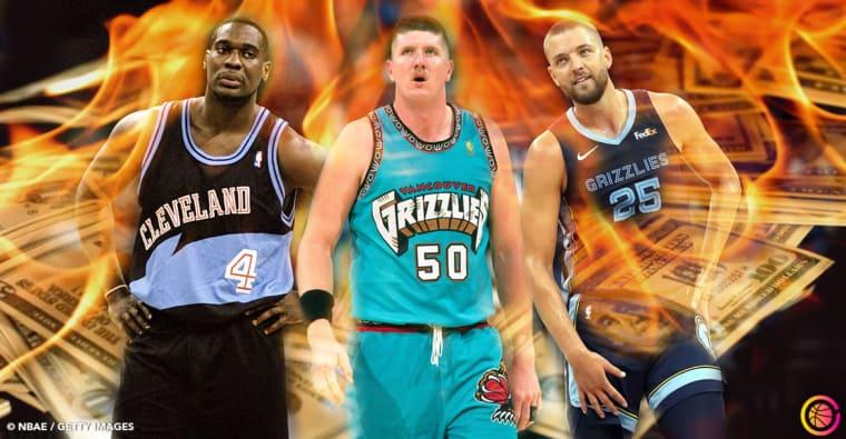 Les 15 pires contrats de l'histoire de la NBA