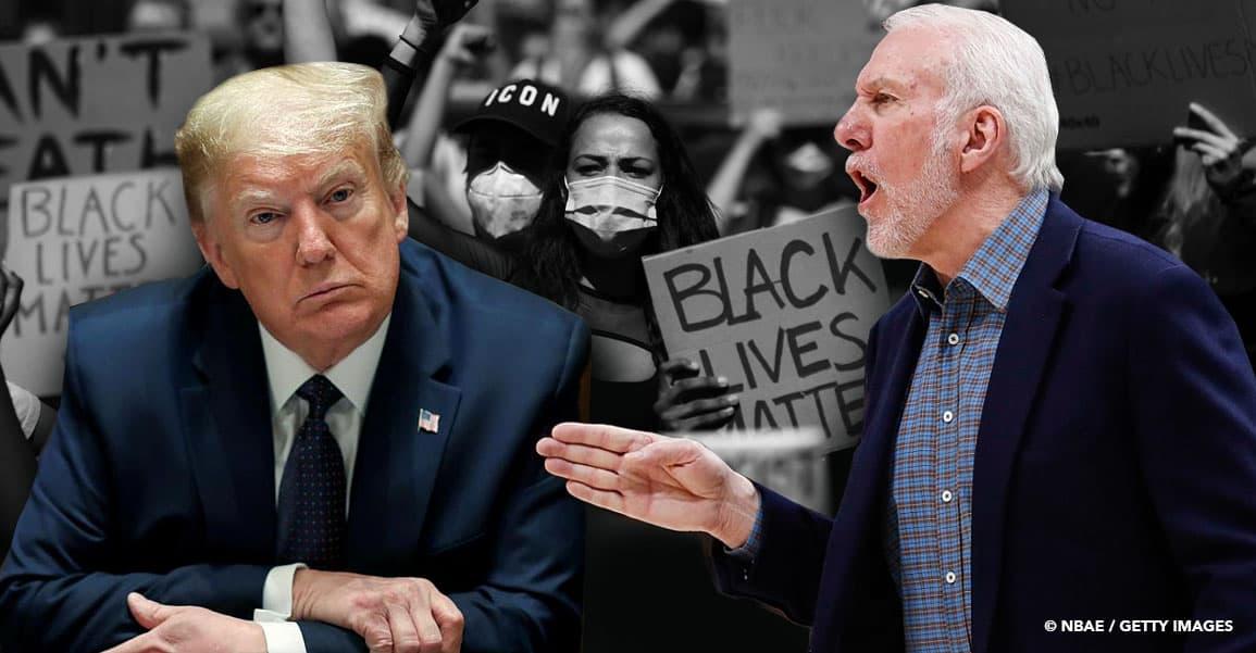 «Un lâche, un idiot», Gregg Popovich allume Donald Trump