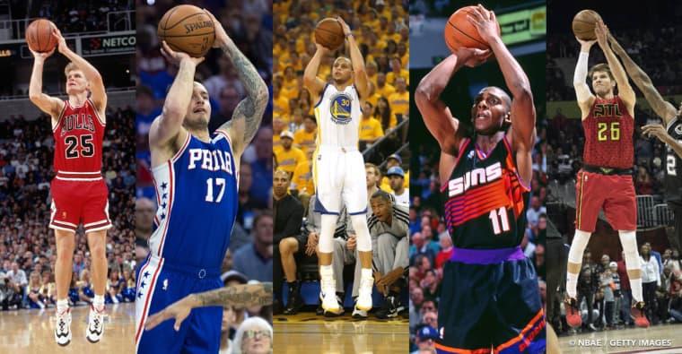 Les 10 meilleurs snipers de l'histoire de la NBA