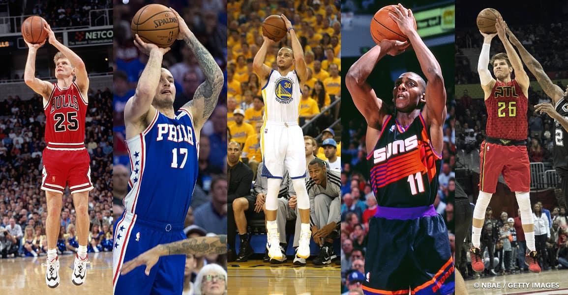 Les 20 snipers les plus adroits de l'histoire de la NBA