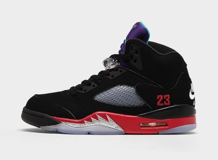 Release of the week : Air Jordan 5 Top 3