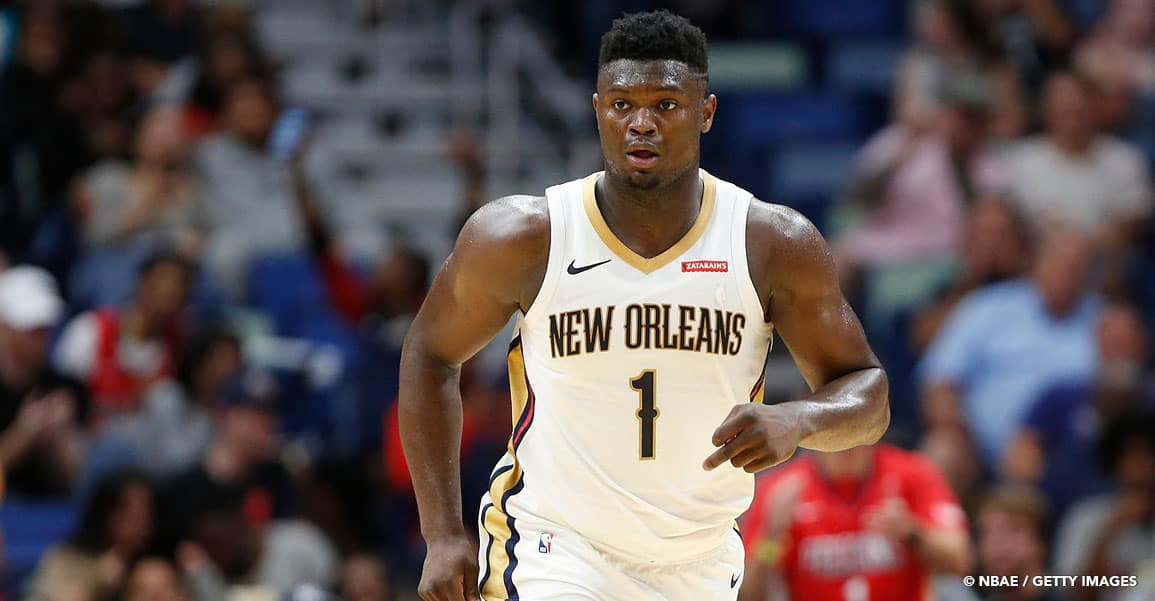 Zion Williamson NBA Pelicans NBA playoffs