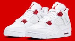 Release of the week : Air Jordan 4 Metallic Red