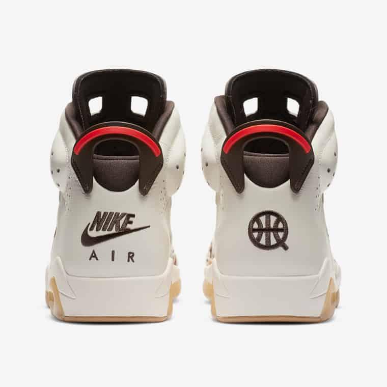 Les images officielles de la Air Jordan 6 Quai 54
