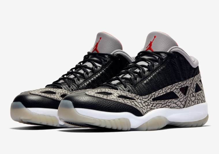La Air Jordan 11 Low IE se la joue « Cement »