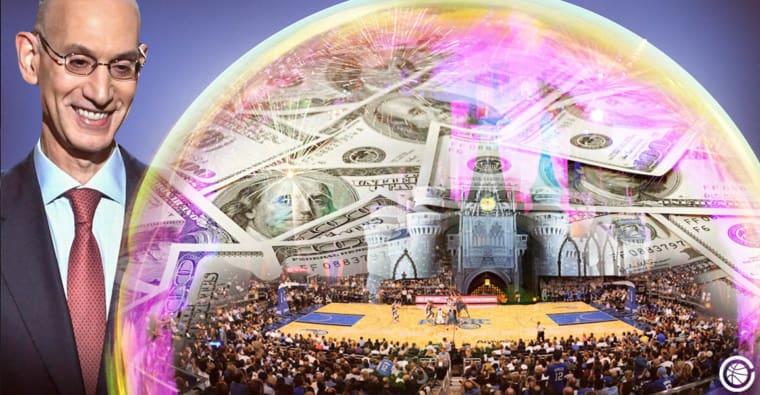 La «bulle» de Disney va coûter un paquet de fric à la NBA!