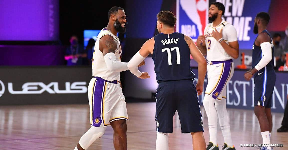 LeBron et les Lakers battus par les Mavs pour leur retour au jeu