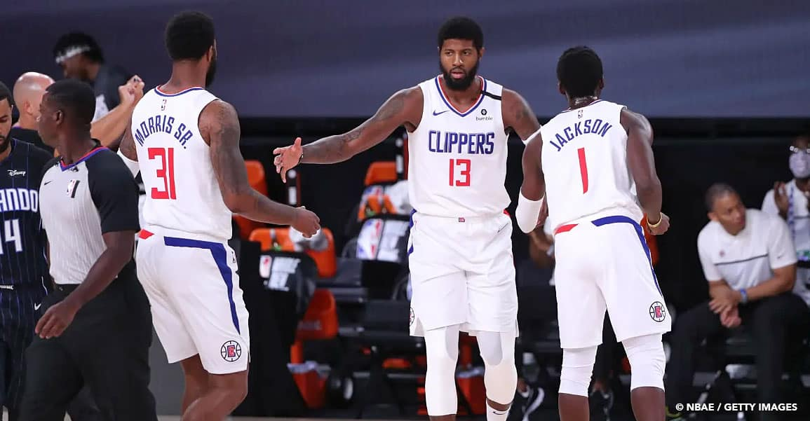 Los Angeles Clippers team bubble