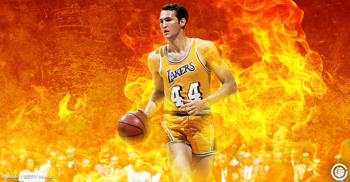 Jerry West le pyromane : son record NBA en playoffs totalement dingue