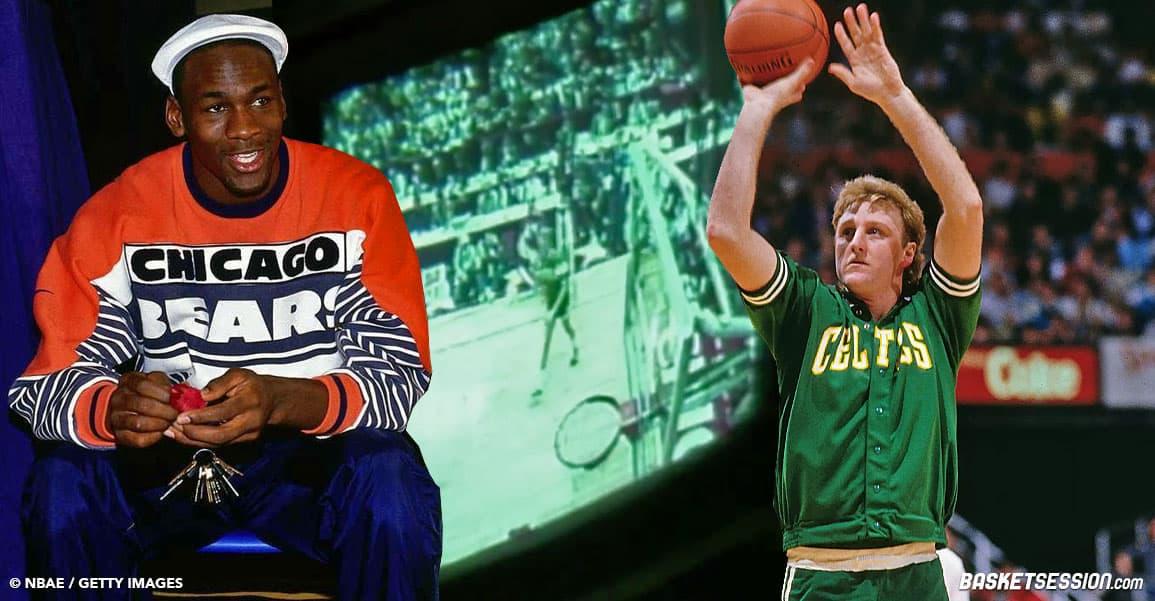 Quand Michael Jordan hallucinait devant la prestation de Larry Bird
