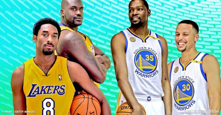 Pourquoi Shaq se trompe en pensant que ses Lakers auraient explosé les Warriors