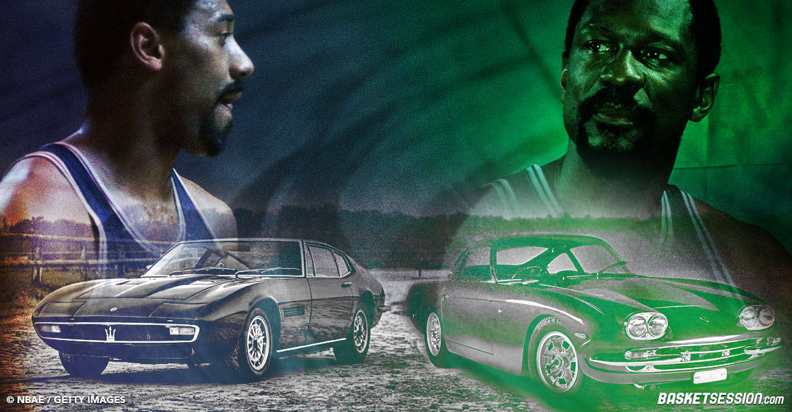 Bill Russell & Wilt Chamberlain : courses sauvages sur les routes américaines