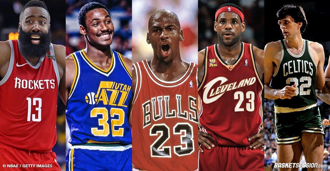 MJ, LeBron, Harden… Les 10 perfs les plus folles de l'ère moderne