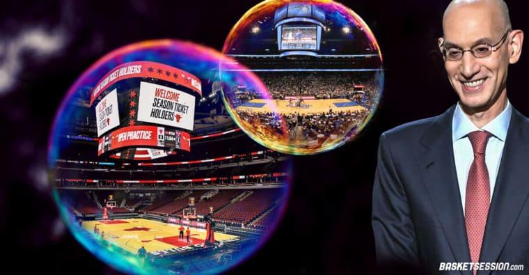 La NBA dans une bulle, ce n'est peut-être pas terminé