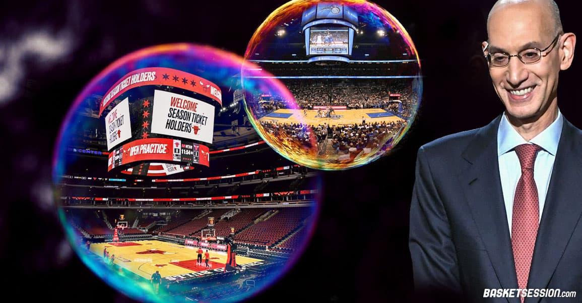 La NBA va ouvrir une deuxième bulle, comme si de rien n'était