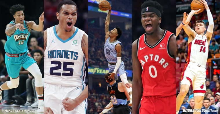 Rookie of the year : Notre top 10 définitif